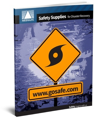 Safety Supplies for Disaster Recovery Flyer